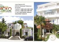 Hotel Villa Vicko vacation at Adriatic, accommodation in Starigrad Paklenica Croatia