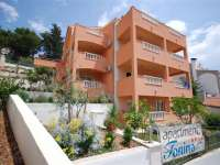 Apartments Tonina accommodation in Trogir near Split Croatia