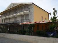 Apartments Nikolić Ivan holidays in Vodice near Šibenik Croatia