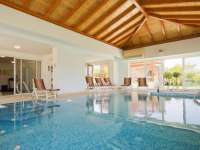 Villa Marina with heated swimming pool luxury accommodation in Betina, island Murter, Croatia
